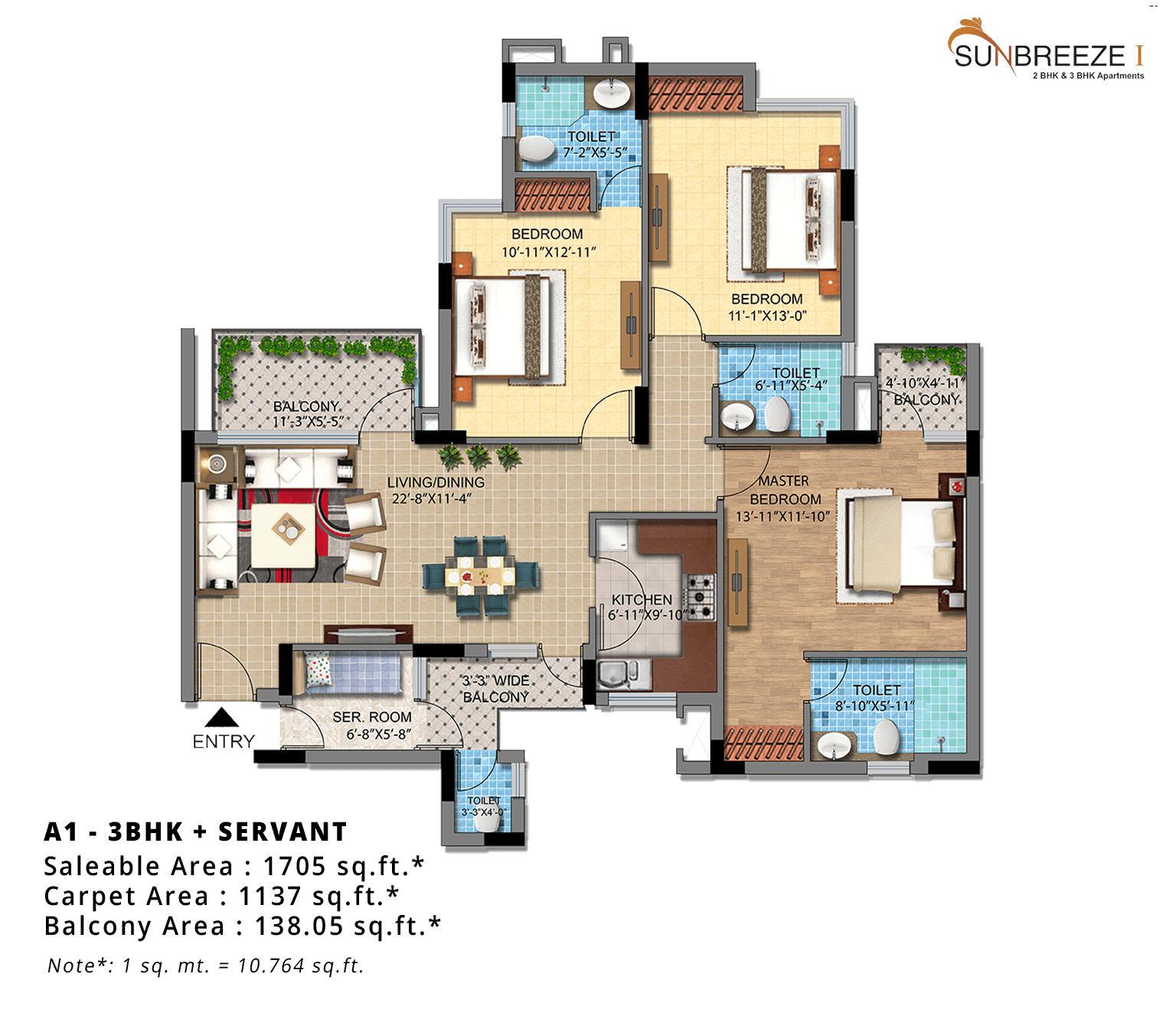A1-3BHK-1