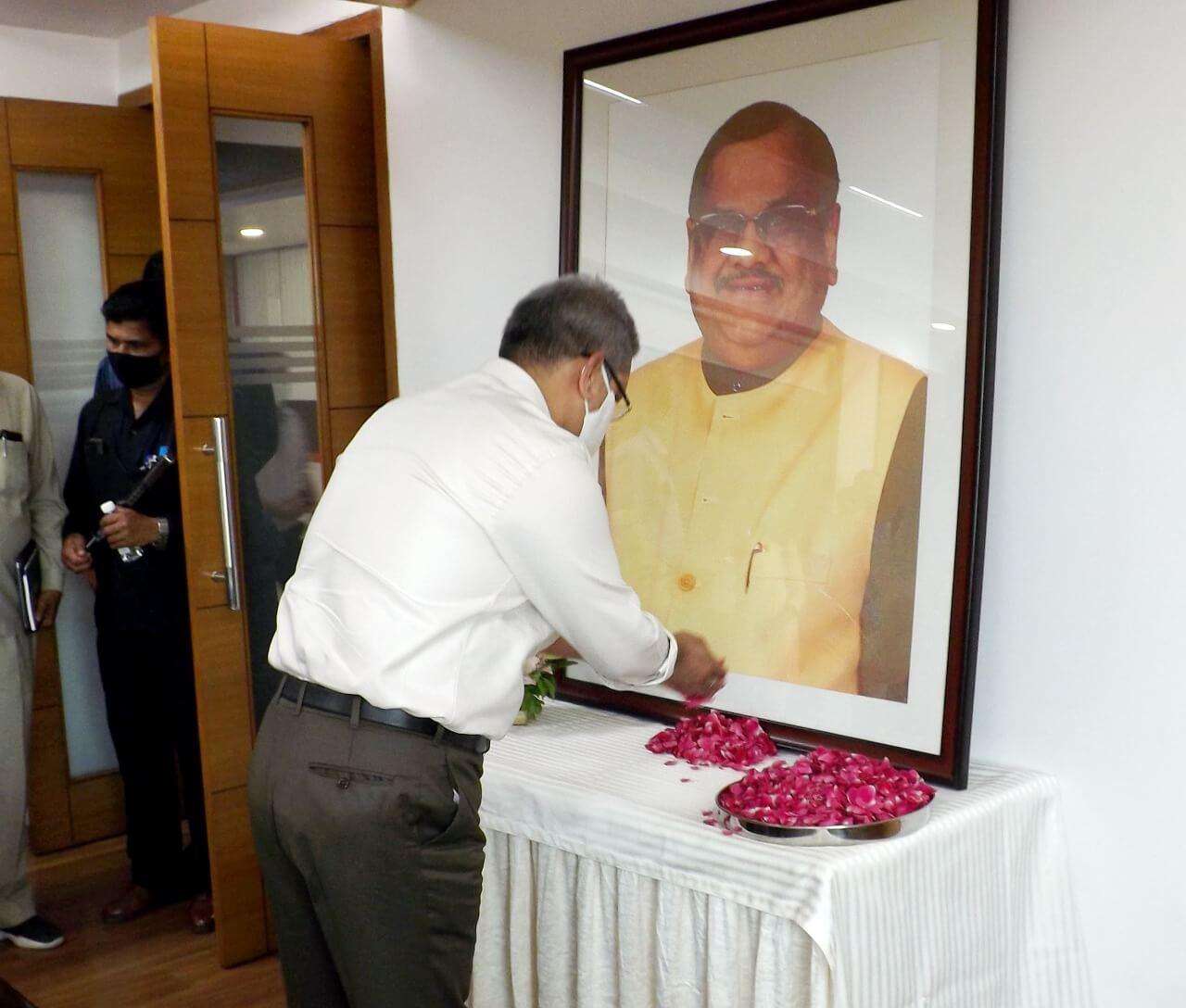 Death anniversary of akhilesh das ji (1)